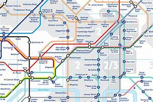 Tfl Redraws Tube Map As Zone 2 Boundary Change Comes Into