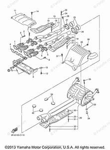 Yamaha Snowmobile 2004 Oem Parts Diagram For Exhaust