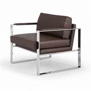 Fauteuil Relax Design Contemporain : fauteuil contemporain cuir pas cher madeleine ~ Teatrodelosmanantiales.com Idées de Décoration