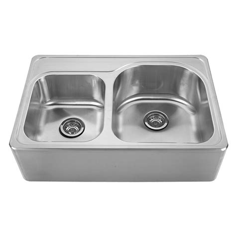 whitehaus sinks kitchen whitehaus collection noah s collection front apron brushed 1070