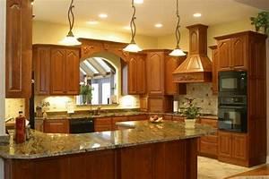 Kitchen Design Ideas - Golden Crystal Granite Slab
