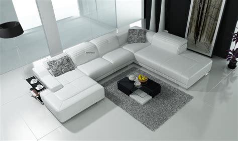 canapé simili cuir blanc pas cher canapé d 39 angle en cuir blanc pas cher