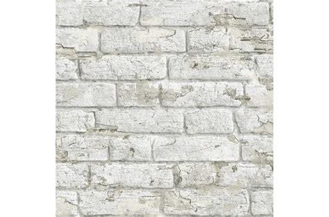 Tapisserie Brique Blanche by Papier Peint Briques 233 Caill 233 Es Blanches Adonis Papier