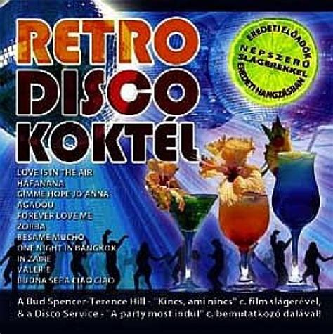 Retro Disco Koktél (retro Records) Válogatás