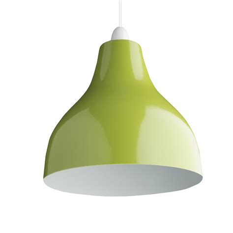 retro cafe bistro metal lighting pendant shades green