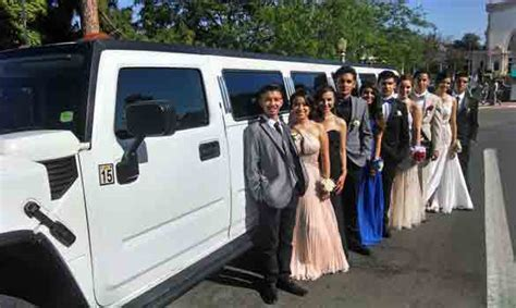 Prom Limousine by Vancouver Prom Limousine Rental Hire Graduation Limo