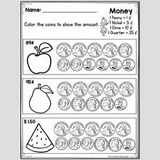 Counting Money Worksheetscounting Coins Worksheets First And Second Grade