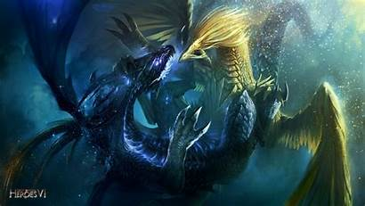 Dragon 1080p Dragons Background Wings Battle Heroes