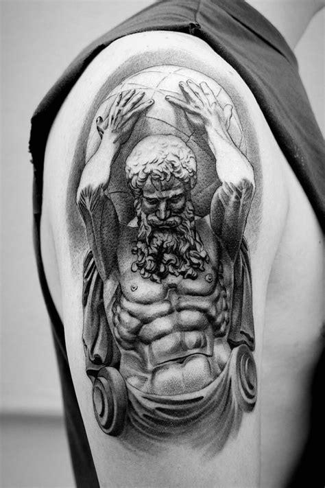 Tattoo uploaded by chandlerm09 | Greek mythology Titan, Atlas. | 777175 | Tattoodo