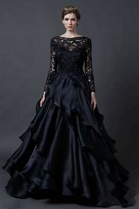 14 best black wedding dress images on pinterest wedding With dark wedding dresses