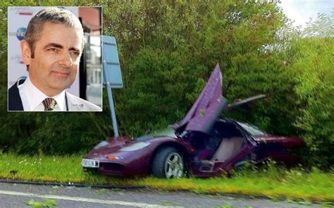 Rowan Atkinson's Mclaren Car Repair Costs Insurers Almost