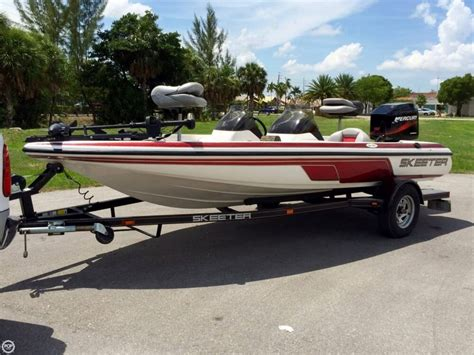 Skeeter Bass Boats Used by 2003 Used Skeeter Sx180 Bass Boat For Sale 13 000