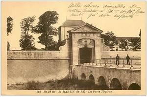 Porte Cartes Postales : 17 saint martin de re la porte thoiras ~ Teatrodelosmanantiales.com Idées de Décoration