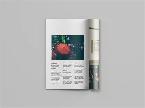 Magazine Mockup A4 Magazine Mockup