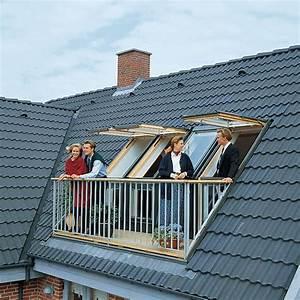 dachausbau bilder With markise balkon mit 3d tapete für dachschräge