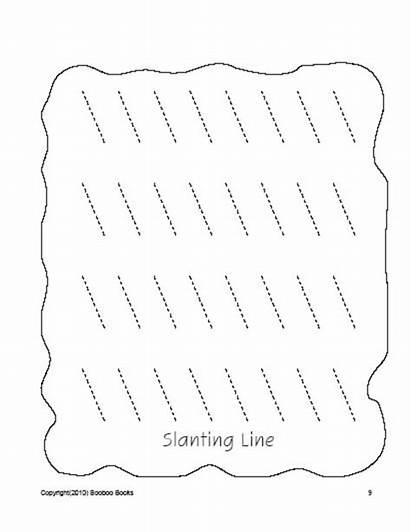 Preschool Worksheets Drawing Lines Pages Curves Pre