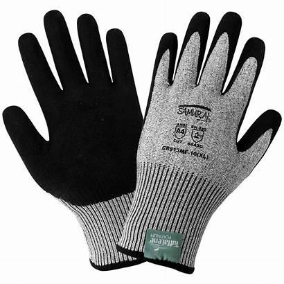 Gloves Cut Resistant Nitrile Glove Samurai Level
