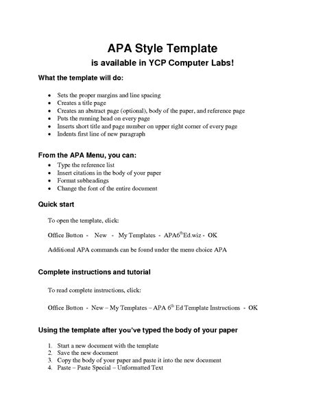 apa formal outline apa outline template lisamaurodesign