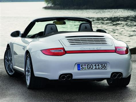 white porsche 2009 white porsche 911 carrera 4 cabriolet wallpapers