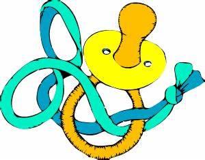 Pacifier 1 Clip Art at Clker.com - vector clip art online ...