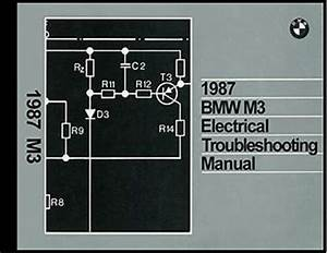 1987 Bmw M3 Electrical Troubleshooting Manual Wiring Diagram Book M 3