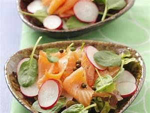 Salat Mit Geräuchertem Lachs : salat mit spinat ger uchertem lachs radieschen und pfefferk rnen rezept eat smarter ~ Orissabook.com Haus und Dekorationen