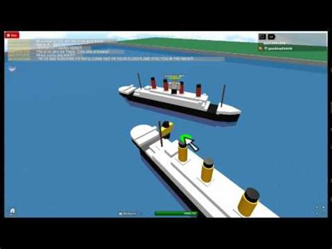 Roblox Rms Olympic Sinking by Second Roblox In Series Lusitania Doovi