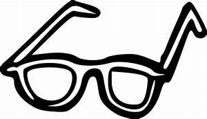 Lunette A Verre Transparent : image vectorielle gratuite lunettes dessins anim s ~ Edinachiropracticcenter.com Idées de Décoration