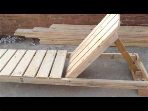 how to build a chaise lounge pool chair part 1