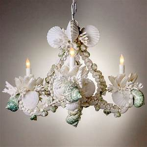 Shell chandelier for sale at stdibs