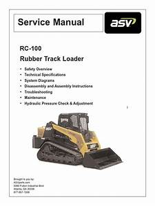 Asv Rc100 Service Manual