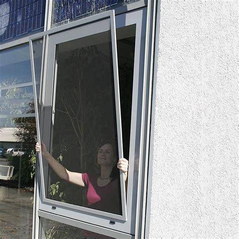 Fliegengitter Fenster Mit Rahmen » Einfach Nachzurüsten