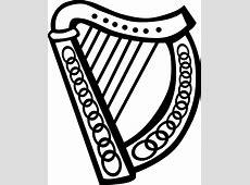 Celtic Harp clip art Free Vector 4Vector