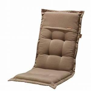 Coussin Fauteuil Jardin : madison 7phosf116 rib coussin pour fauteuil pliable 100 acrylique taupe 123 x 50 x 8 cm ~ Teatrodelosmanantiales.com Idées de Décoration
