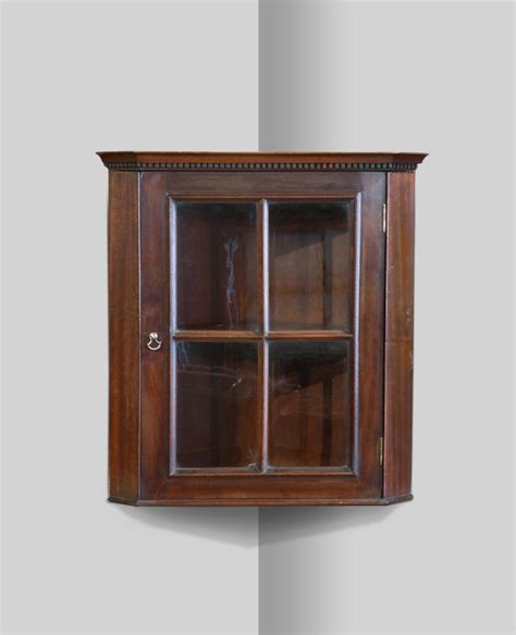 Small Wall Cupboard by Small Glazed Corner Cupboard Mahogany Corner Cupboard