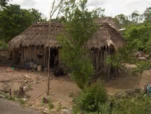 Ancient Mayan Civilization Homes