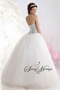 robe de mariee facon princesse avec un bustier coeur en With vente robe de mariée