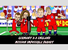 Mission Impossible The Germany 2 England 3 cartoon