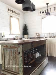 rustic kitchen island table vintage farmhouse kitchen islands antique bakery counter