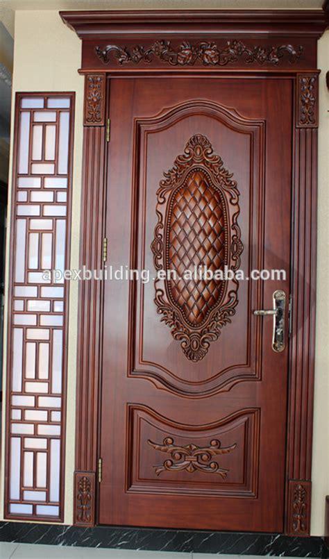 Door Designs by Solid Wood Entrance Door Design Painted