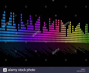 Digital Music Beats Background Showing Music Soundtrack Or