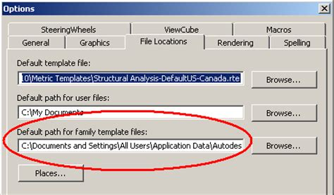 default family template file invalid the building coder default family template path