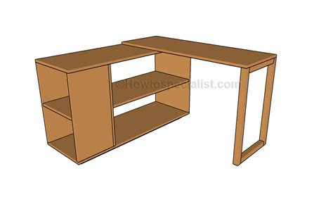 corner desk plans howtospecialist   build step