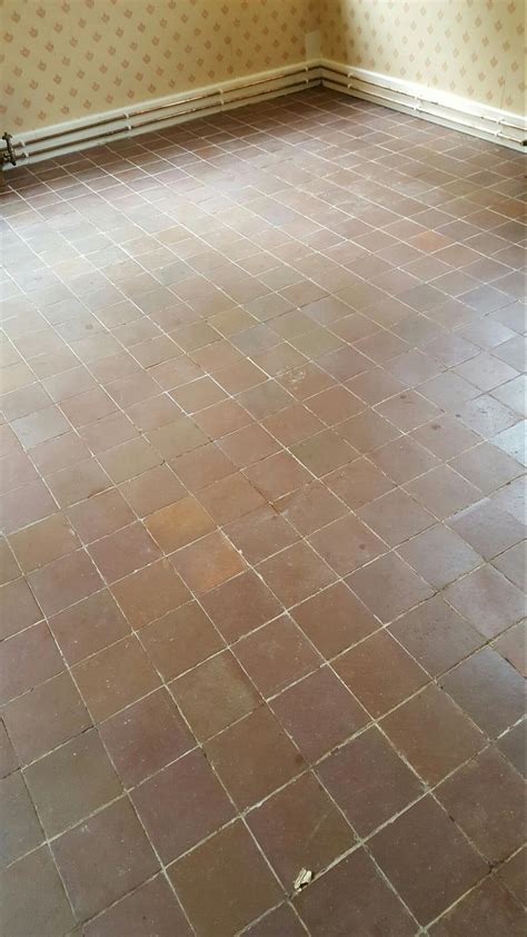 quarry tiles grout protection