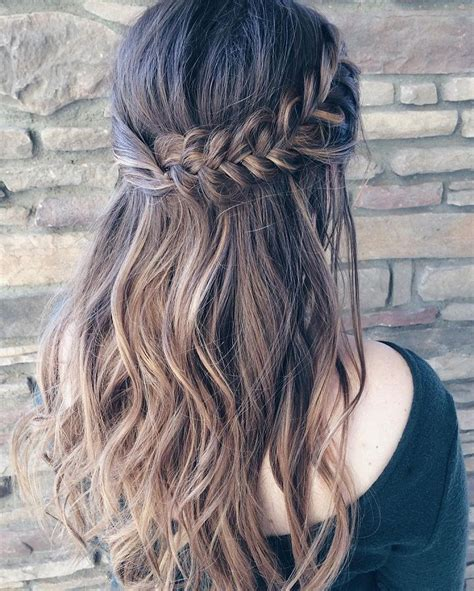 33 half up half down wedding hairstyles to try hair