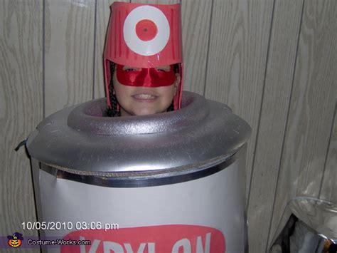 spray paint  homemade halloween costume photo