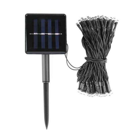 100 led solar powered string lights decorative out