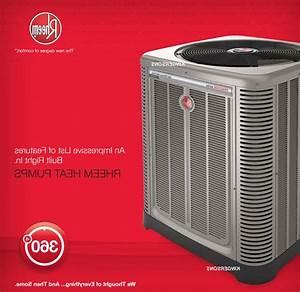 Rheem 2 Ton 18 5 Seer Heat Pump Split