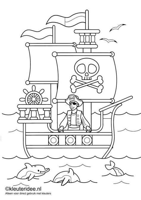 Kleurplaat Brandweerman Sam Boot by Kleurplaat Piraten 1 Kleuteridee Nl Op De Site Nog Veel