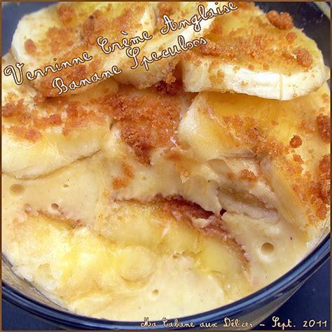 recette de cuisine de a à z verrine creme anglaise banane speculoos recettes faciles